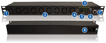 8 and 16-Port Remote Power Manager