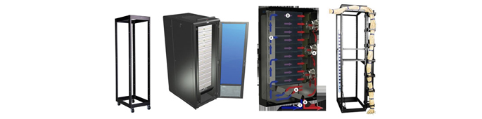 2 Post 19 Inches Server Racks