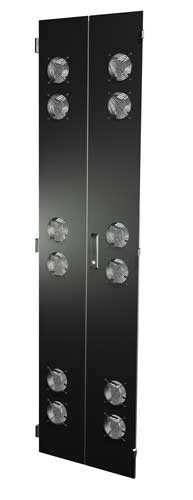 Split Fan Door set for 48″H x 24″W Frame