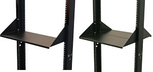 "Shelves for 2 and 4 Post Racks 19.00""W x 15.00""D 