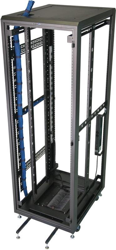 "Enclosure frame 30""H x 24""W x 32""D 13 RMU   3001E-2432"