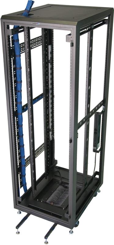 "Enclosure frame 72""H x 24""W x 36""D 37 RMU   7201E-2436"