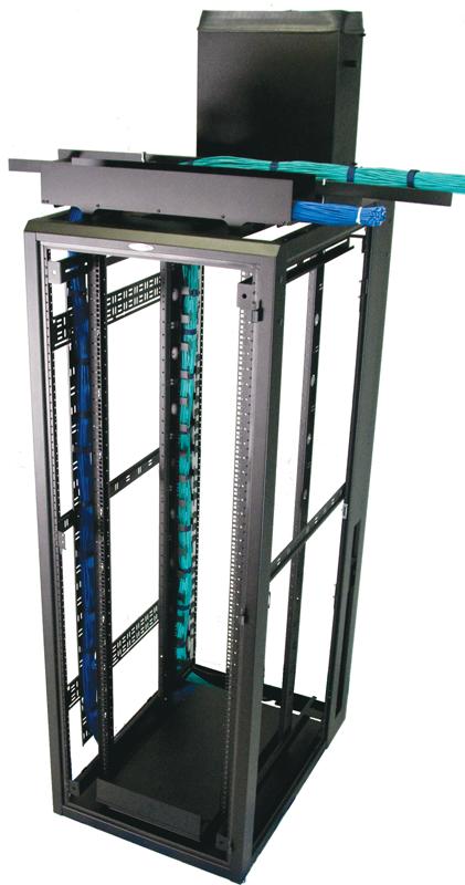"Enclosure frame 84""H x 30""W x 48""D 44 RMU | 8401ES-3048"