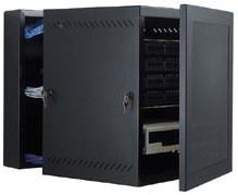 WM Series Wall Mount Swing Out Data Cabinets 25U | GL48WMS