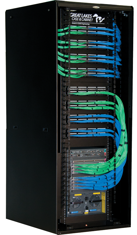 EN Enhanced Networking Enclosure solid sides | GL840ENT-3242MSS