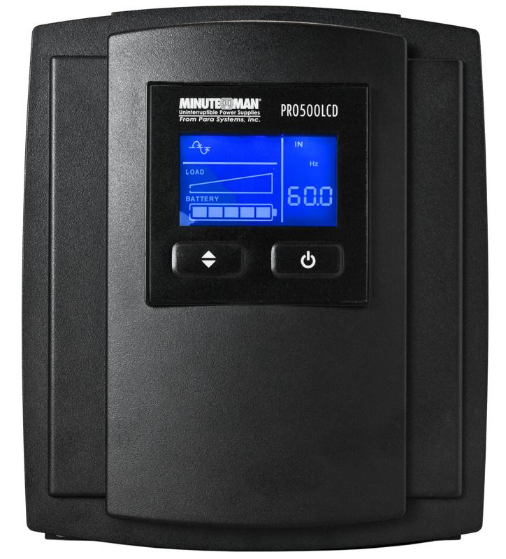 UPS PRO500LCD for Computers and other Equipment