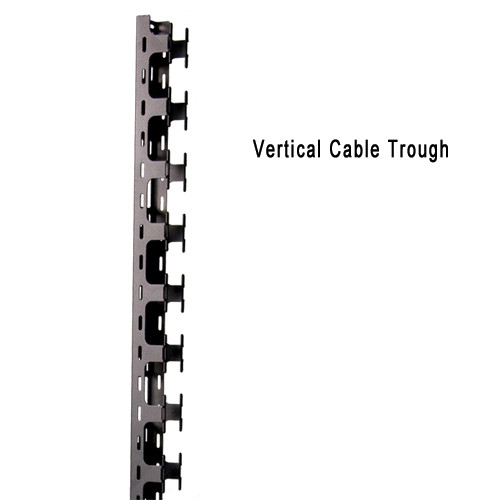 "Vertical Cable Trough for 78""H ES Enclosure 