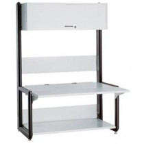 "Advantage A1 Computer Desk  with leveling glides 54.00""W x 45.20""D x 78.00-7 