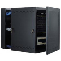 WM Series Wall Mount Swing Out Data Cabinets 25U | GL48WMS
