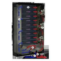 Closed-Loop Water-Cooled Rack Enclosure | GL840ES-3048CLWCE