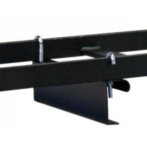 "Single Fixed Height Bracket 3"" with hardware 