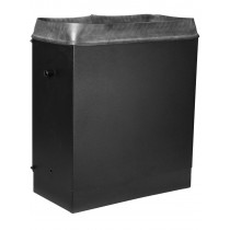 Exhaust chimney for 42″D enclosure (32″-46″) | GL-EC-42-3246