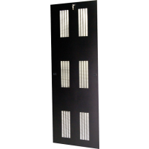 "Lift-Off Vented Side Panels for 78""H x 36""D Frame"