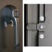 Heavy Duty Handle with 3 point latch