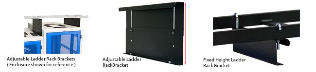 Adjustable Ladder Rack Bracket